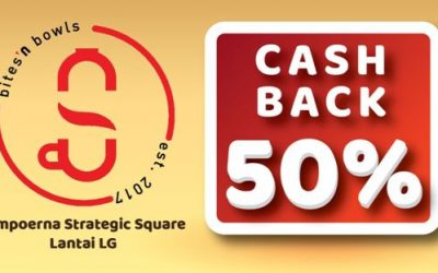 Cashback 50% DI BNB Sampoerna Strategic Square