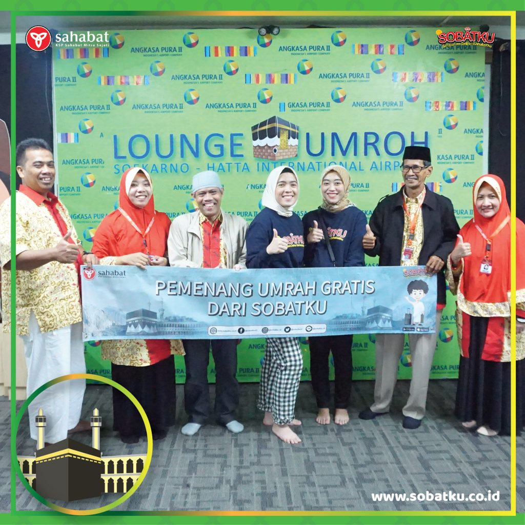 Pelepasan Pemenang Umrah SOBATKU Feb 2019