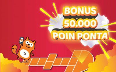 BONUS 50.000 POIN PONTA
