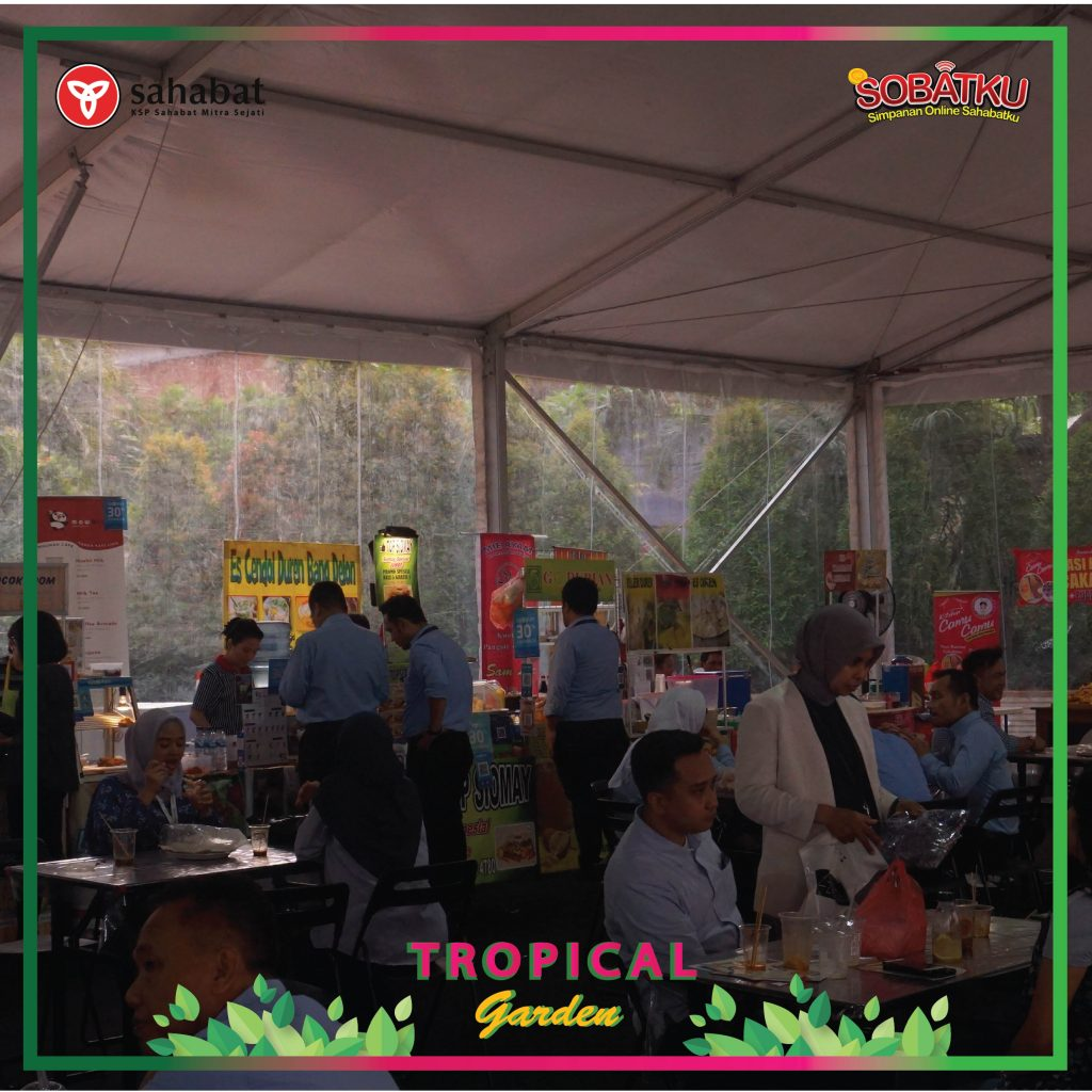 Bazaar Sampoerna Srategic (SS) – Tropical Garden