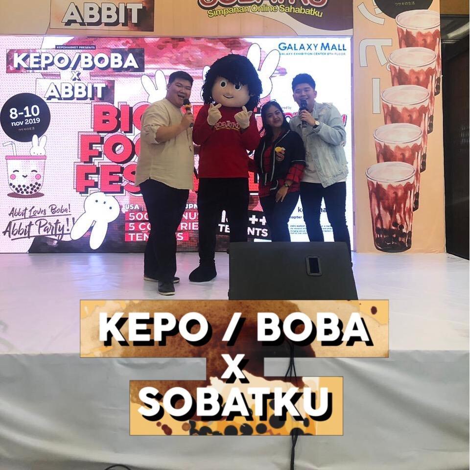 Kepo Market – Boba 8,9,10 November 2019
