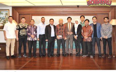 Silaturahmi Pengurus dan Pengawas  Koperasi Simpan Pinjam Sahabat Mitra Sejati dengan Menteri Koperasi dan UKM Republik Indonesia.