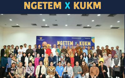Menteri Koperasi Teten Masduki Ngobrol Bersama Pengurus KSP Sahabat Mitra Sejati di Acara Ngetem X KUMKM