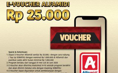 DAPATKAN VOUCHER ALFAMIDI Rp 25,000