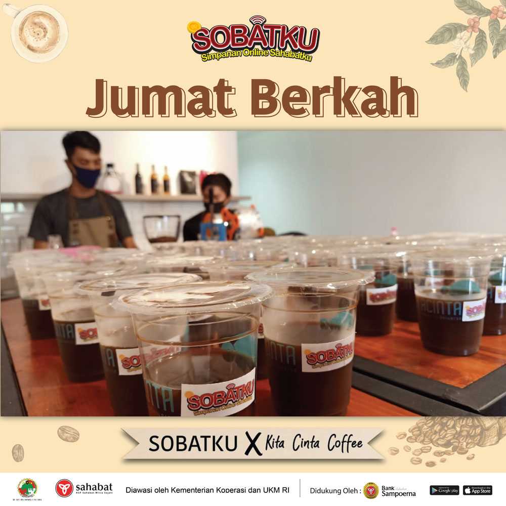 Foto Jumat Berkah (SOBATKU X Kita Cinta Coffee)