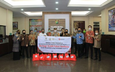 Peduli Komunitas, KSP Sahabat Mitra Sejati Berbagi 10.000 Sembako